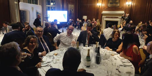 Champagne Awards: Dine with the Winemakers in Westminster, London!