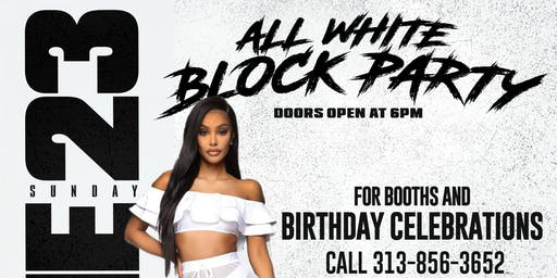 The Official All White Block Party