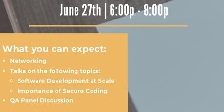 Software Development @ Scale Securely (Walmart Labs) tickets