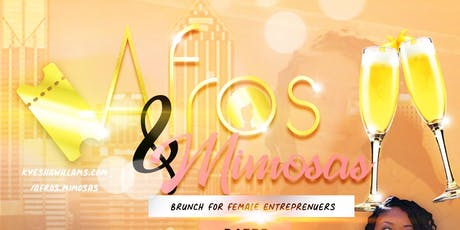 Afros & Mimosas ATL tickets