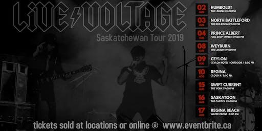 Live Voltage AC/DC Tribute - Sunnyside bar Emma Lake