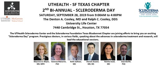 UTHEALTH - SF TEXAS CHAPTER  2ND BI-ANNUAL - SCLERODERMA DAY