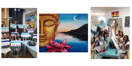 "BYOB Sip & Paint Event - ""Lotus and Buddha"" tickets"