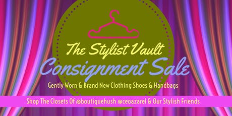 The Stylist Vault Consignment SALE  tickets
