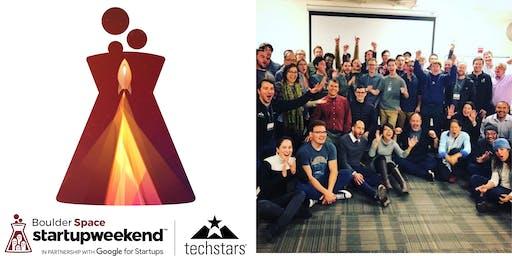 Techstars Startup Weekend Boulder Space 2019