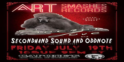 Art Smashes Records with Secret Love, Secondhand Sound and Oddnote