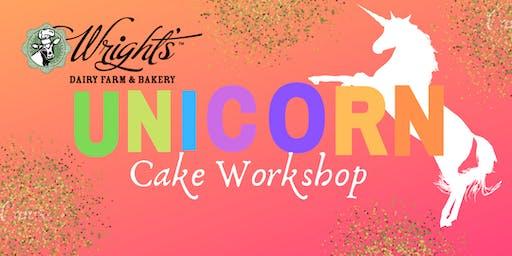 Unicorn Cake Workshop