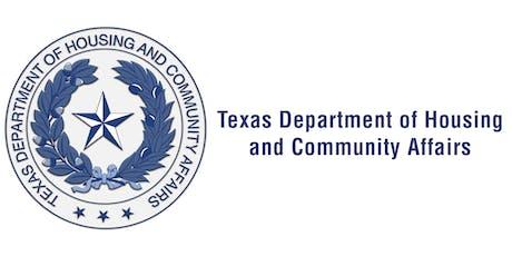 TDHCA Single Family Umbrella Rule Roundtable - Austin tickets