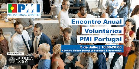 Encontro Anual de Voluntários do PMI Portugal bilhetes
