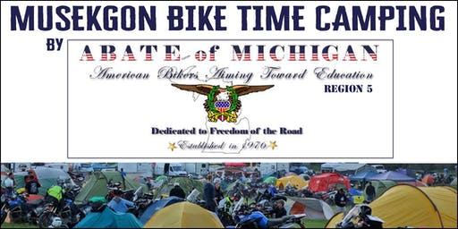 Muskegon Bike Time Camping by ABATE