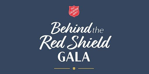 Behind The Red Shield Gala
