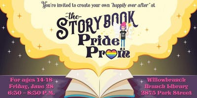 The Storybook Pride Prom at Willowbranch Library