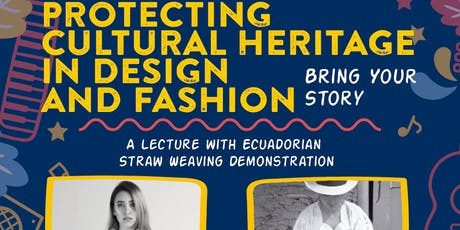 Preserving and Promoting Cultural Heritage in Design and Fashion tickets
