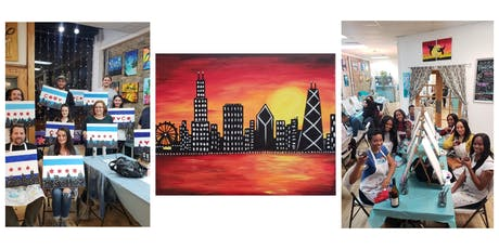 "BYOB Sip & Paint Event - ""Chicago Skyline""  tickets"