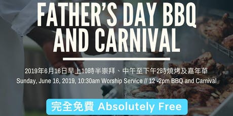 FREE Father's Day BBQ and Carnival tickets