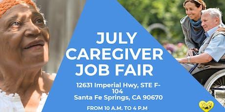 July Caregiver Job Fair  tickets