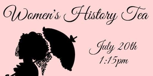 Women's History Tea