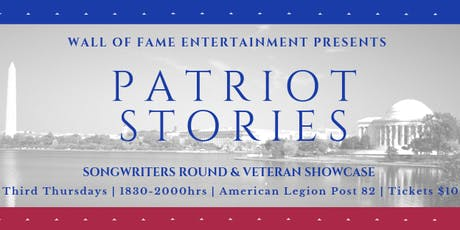 Patriot Stories | Songwriter's Round & Veteran Showcase tickets