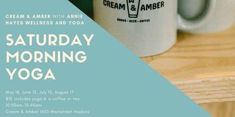 Amber & Cream Yoga tickets