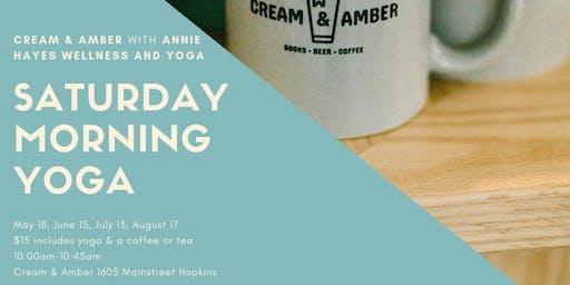Cream & Amber Yoga