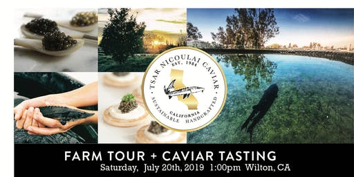Caviar Week - Tsar Nicoulai Caviar Farm Tour (and Tasting)