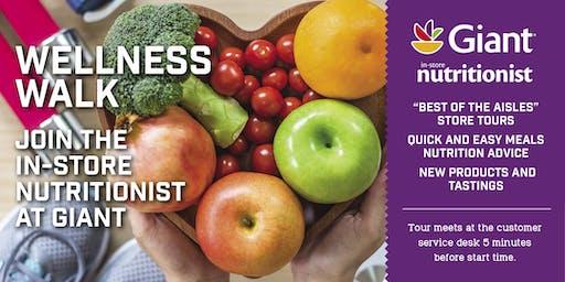 Giant Food Wellness Walks-Maryland