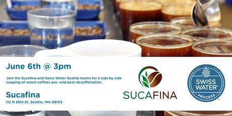 Sucafina Seattle Coffee Cupping - Pre and Post Decaf tickets