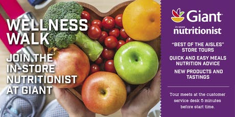 Giant Food Wellness Walks-Virginia tickets