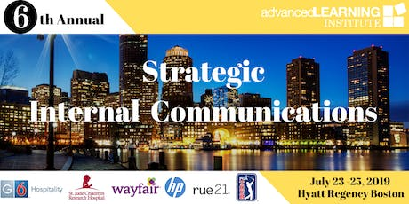 6th Annual Strategic Internal Communications--East Coast tickets