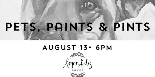 Pets, Paints & Pints at Amor Artis