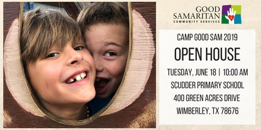 Camp Good Sam Wimberley - Open House 2019