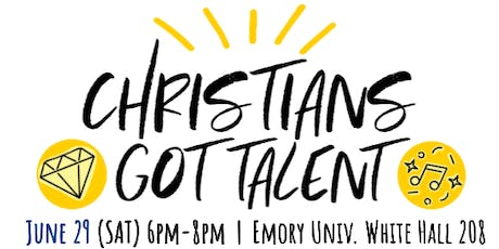 CHRISTIANS GOT TALENT! tickets