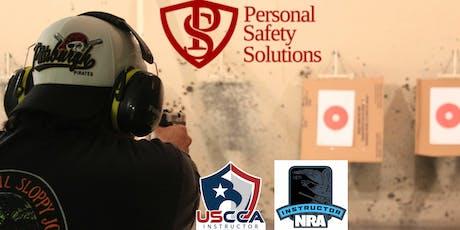 USCCA Basic Pistol Class $100 August 10, 2019 tickets