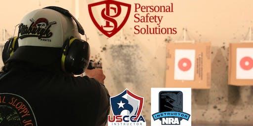 USCCA Basic Pistol Class $100 August 10, 2019