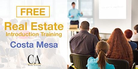 Free Real Estate Intro Session - Costa Mesa tickets