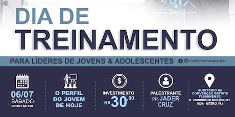 Dia de Treinamento para lideres de jovens e adolescentes - Niterói  ingressos