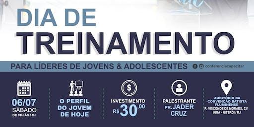Dia de Treinamento para lideres de jovens e adolescentes - Niterói