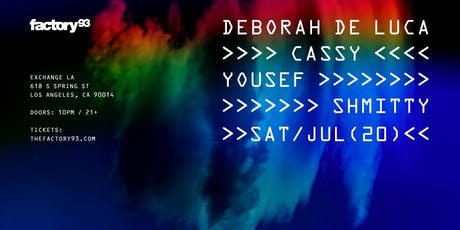 Deborah de Luca, Cassy, Yousef, Shmitty tickets
