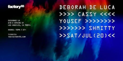 Deborah de Luca, Cassy, Yousef, Shmitty