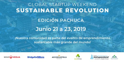 Techstars Global Startup Weekend Sustainable Revolution Pachuca