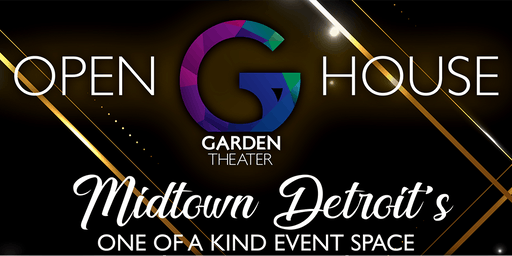 Garden Theater Open House 2019