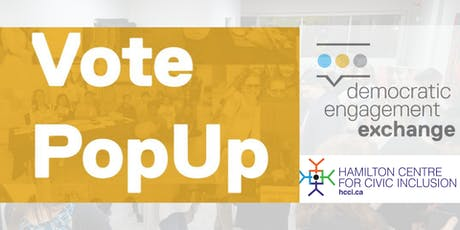 Vote PopUp #HamOnt (1/2) tickets