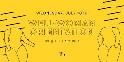 Well-Woman Orientation