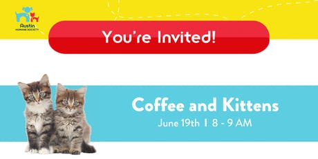 Coffee & Kittens at the Austin Humane Society tickets