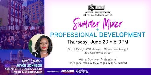NSN NC [Downtown Raleigh] Summer Networking Mixer & Speaker