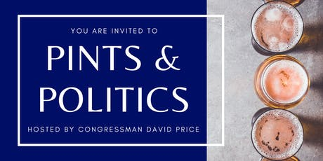 Cary - Pints & Politics with Rep. Price tickets