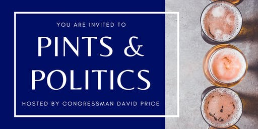 Cary - Pints & Politics with Rep. Price
