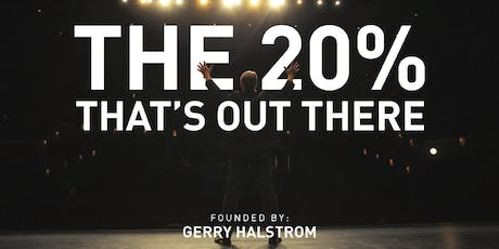 The 20% That's Out There - BUSINESS BUILDER - Keynote Session tickets