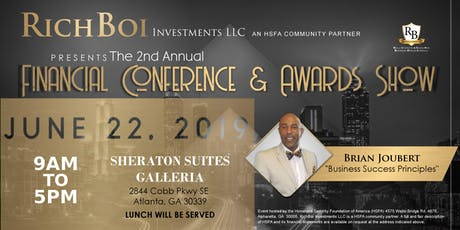 2nd Annual Financial Conference and Awards Show tickets