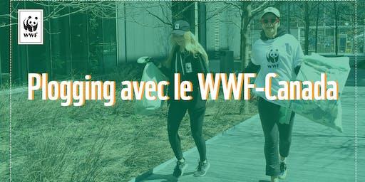 Plogging du WWF-Canada